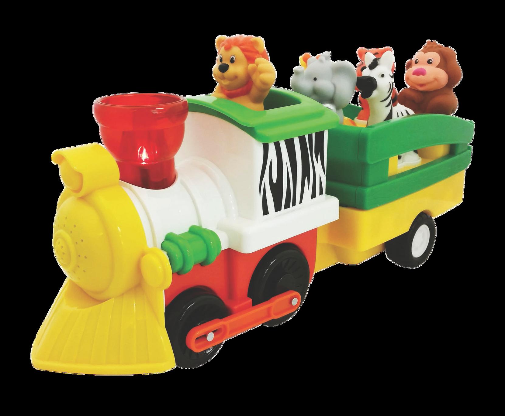 Juna ja eläimet