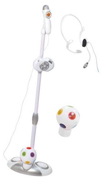 Mikrofoni ja teline + diskopallo