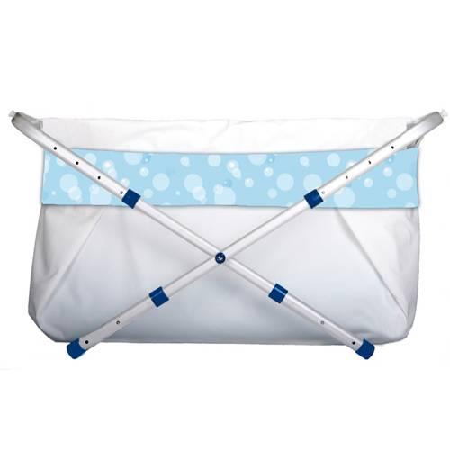 BiBaBad Flexi -kylpyamme, 60-80 cm, sininen/kuplat