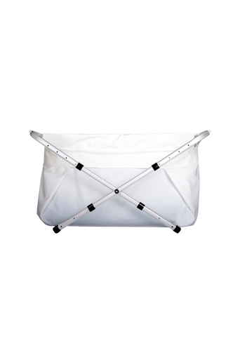 Bibabad Flexi -kylpyamme, 70-90 cm, valkoinen