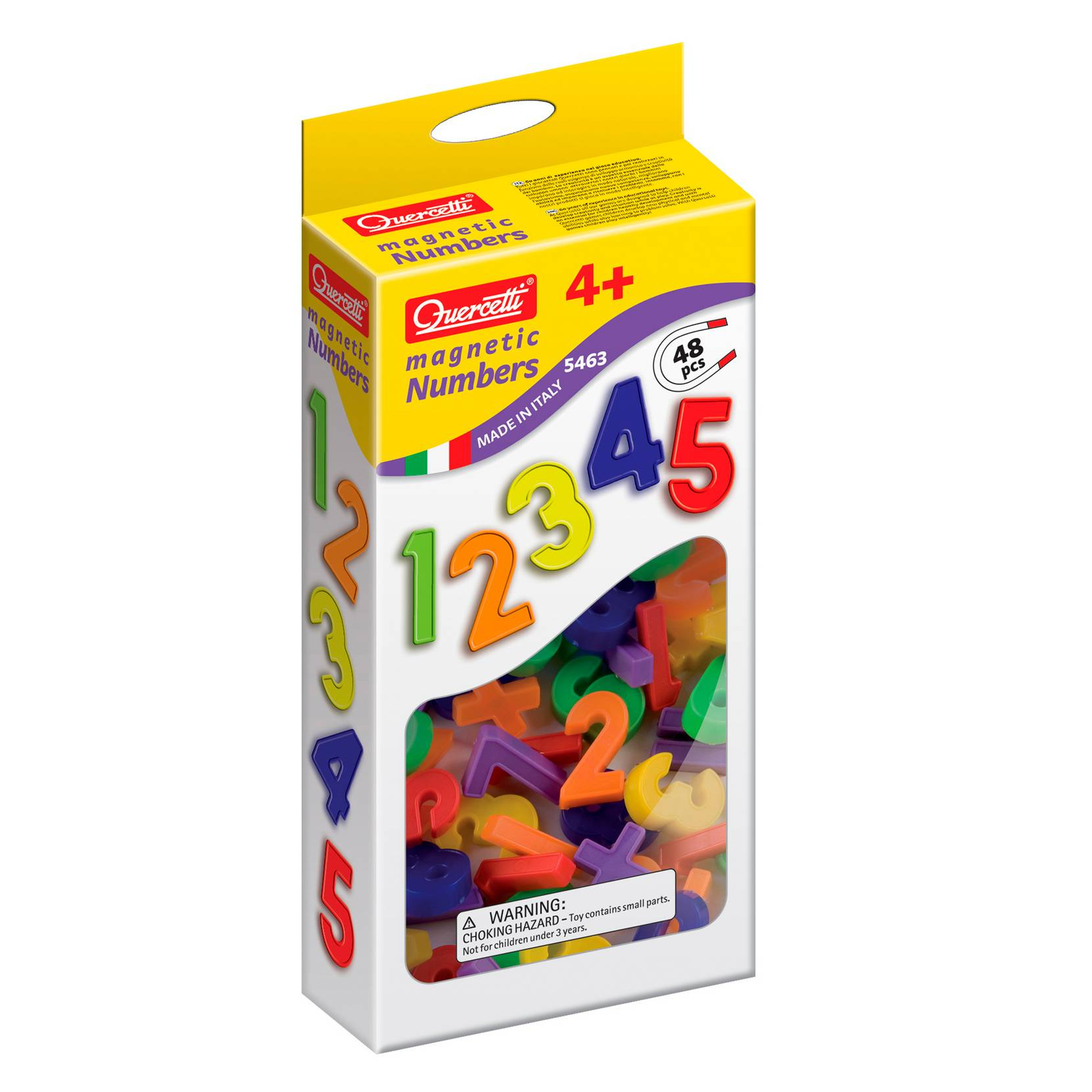 Numeromagneetit, 48 kpl