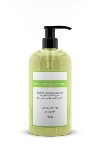 Wash Your Hands Lotus Flower Hand Soap 500 ml