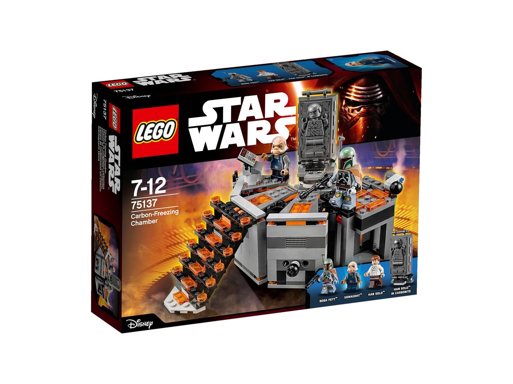 Karbonit-frysekammer 75137 LEGO Lego til Børn i 75137