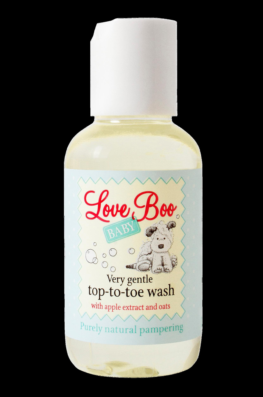 Shampoo ja suihkusaippua vauvoille