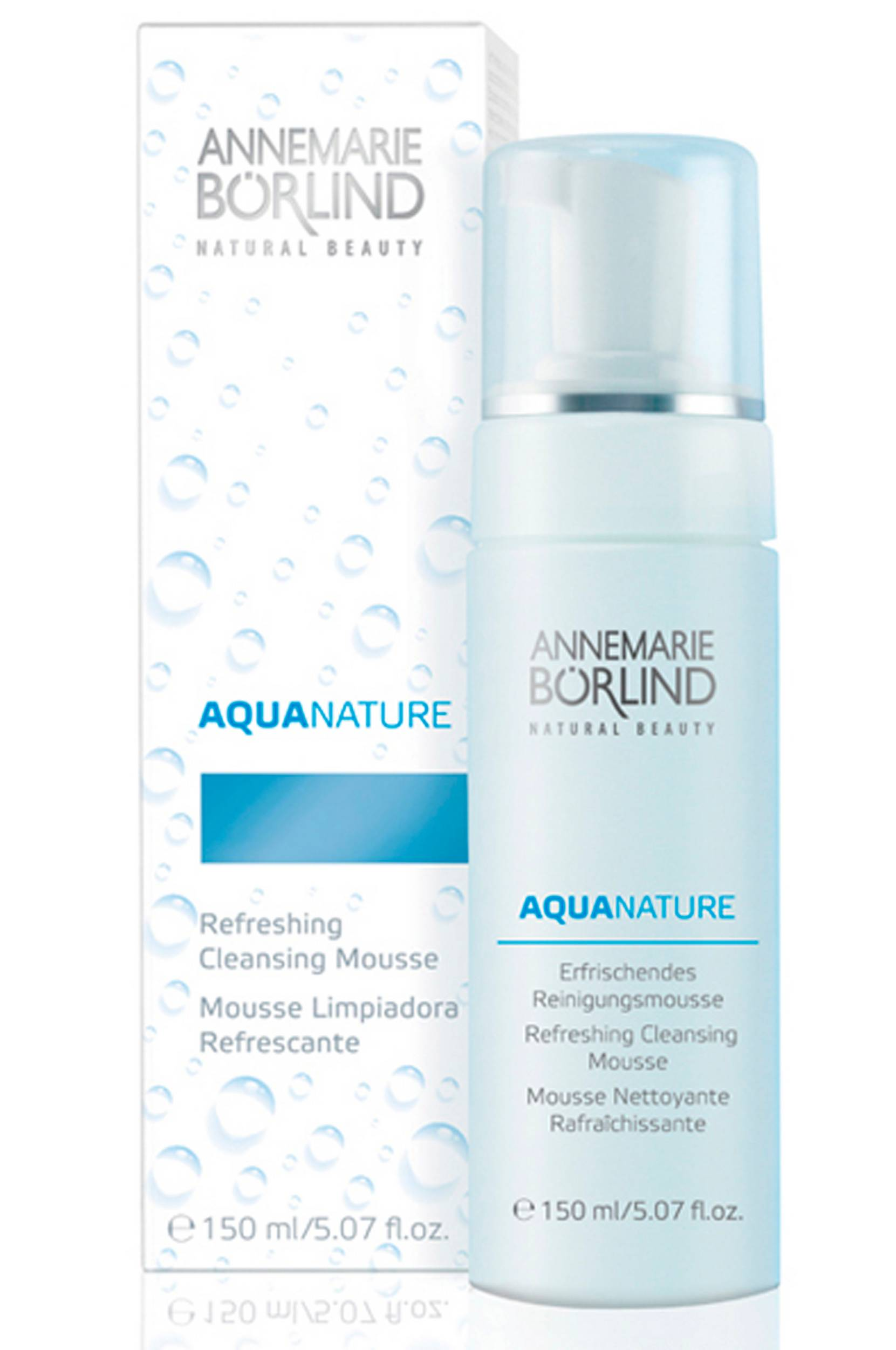 AquaNature Cleansing Mousse 150ml thumbnail