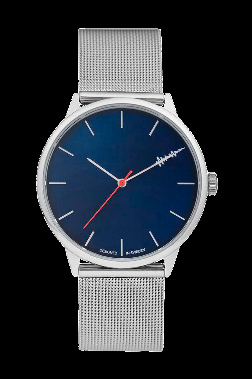 Legacy-kello, tummansininen/hopeanvärinen