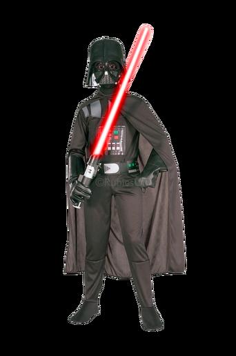 Darth Vader -puku, 104 cm