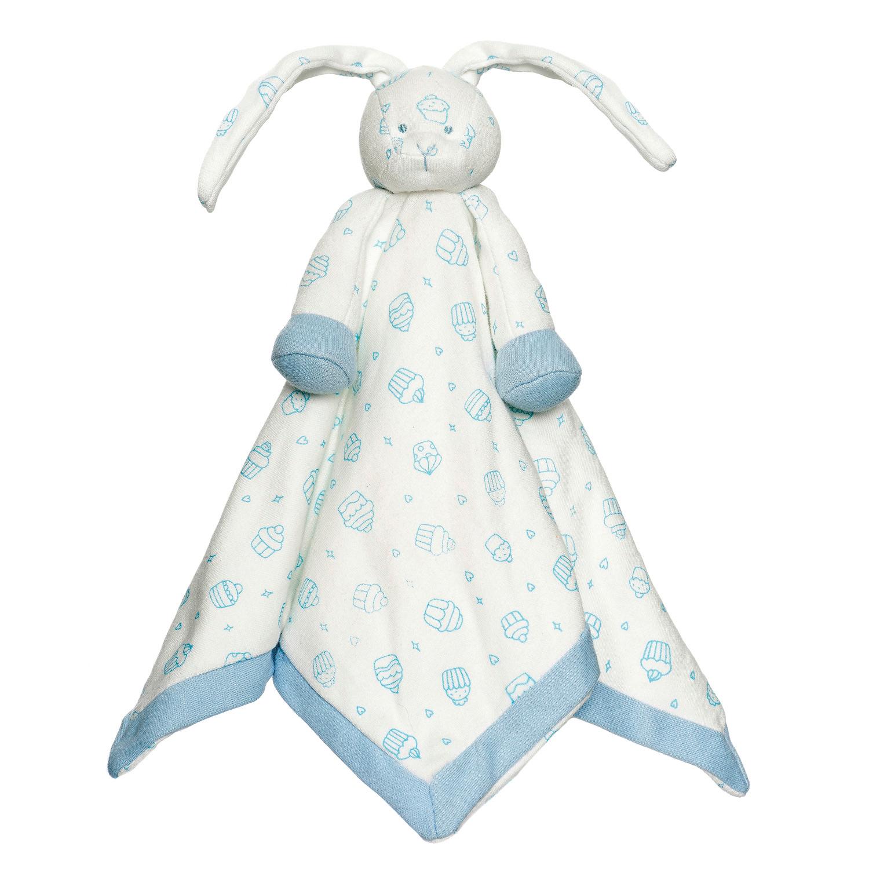 Diinglisar Sutteklud Cupcake Økologisk Blå Teddykompaniet Babylegetøj til Børn i
