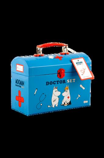 Lääkärinlaukku ja tarvikkeet