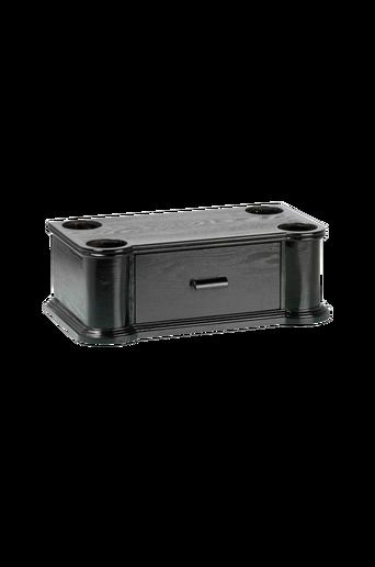 Puinen Rjs101 Jukebox-teline, musta