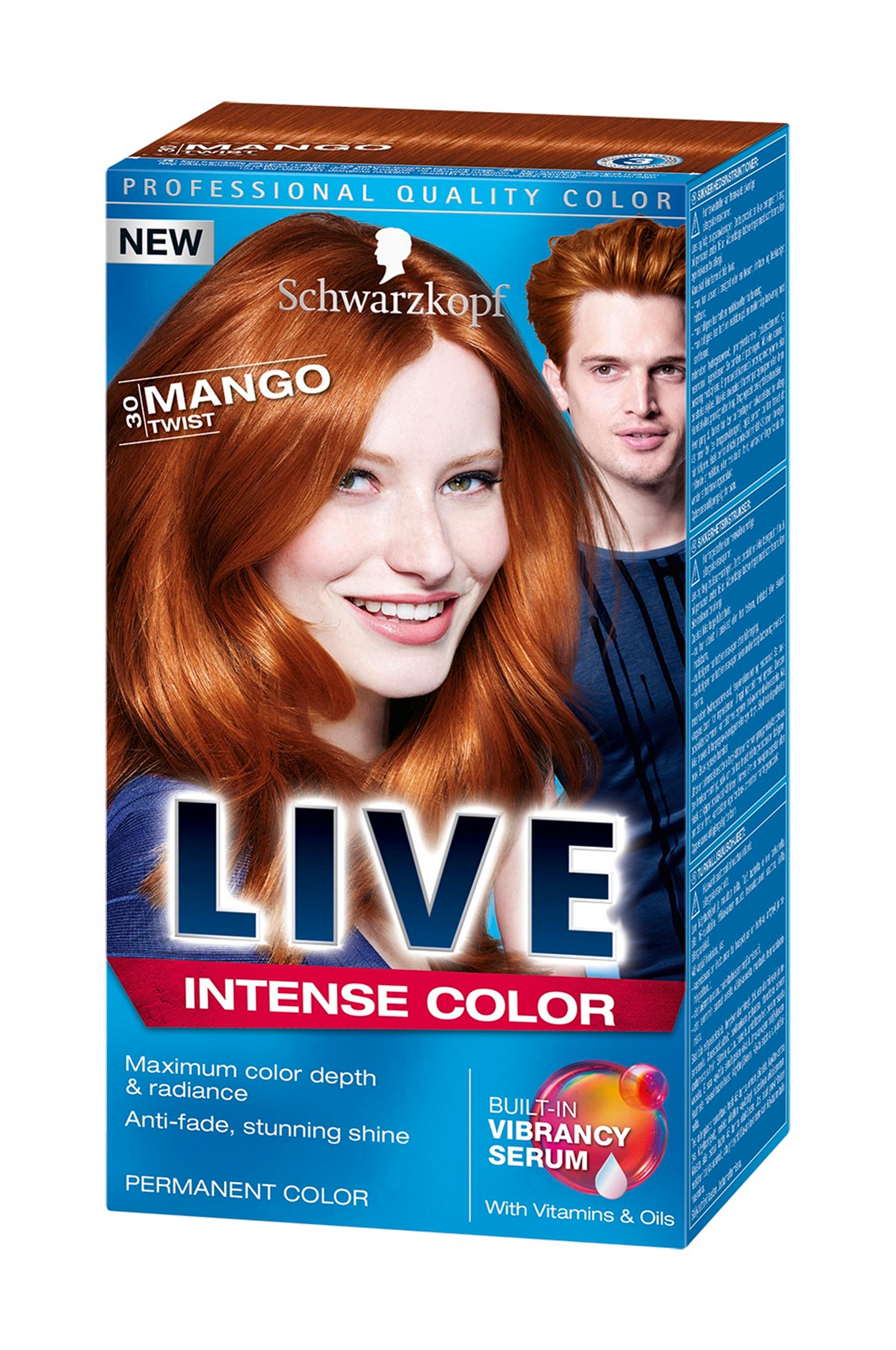 Schwarzkopf Live 30 Mango Twist - Orange - Hårfarve - Ellos.dk