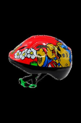 Pyöräilykypärä, punainen