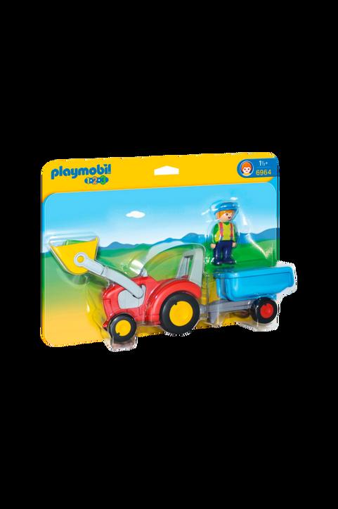1.2.3, Traktor Med Släp