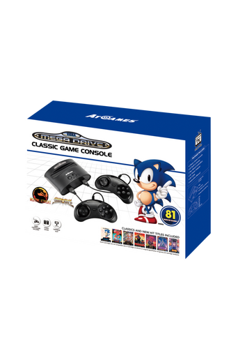 Classic Game Console + 81 peliä