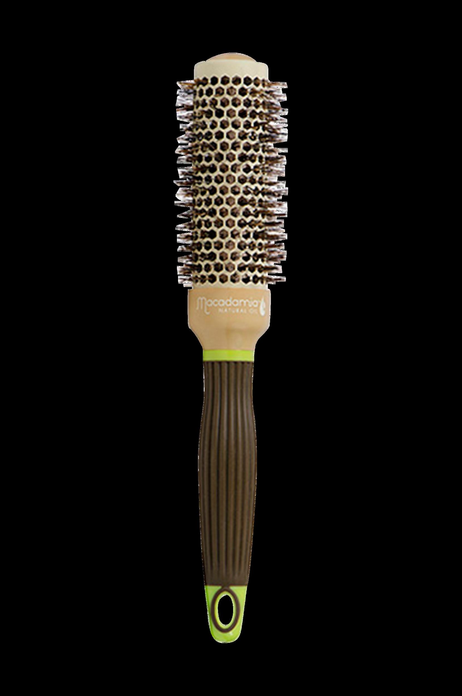 Boar Hot Curling Brush 33 mm Macadamia Hårbørster til Kvinder i