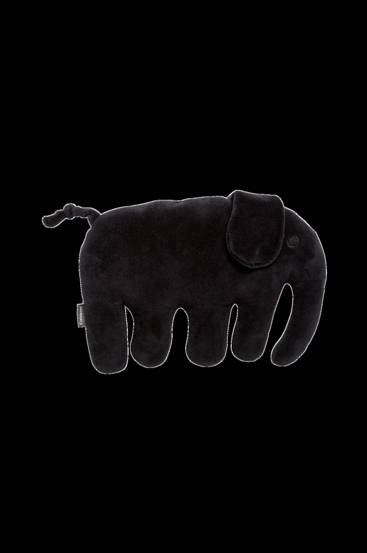 Elefantti-torkkutyyny, musta