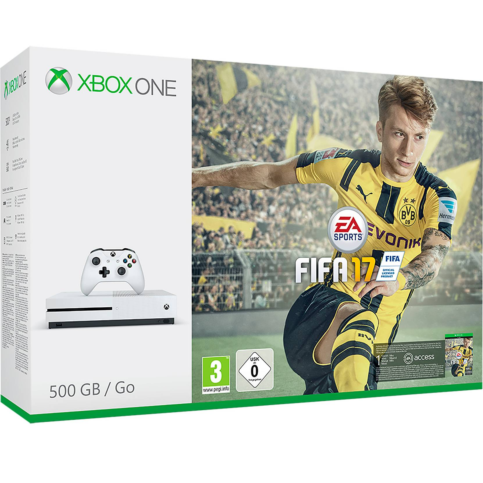 Xbox One S 500 Gt + Fifa 17