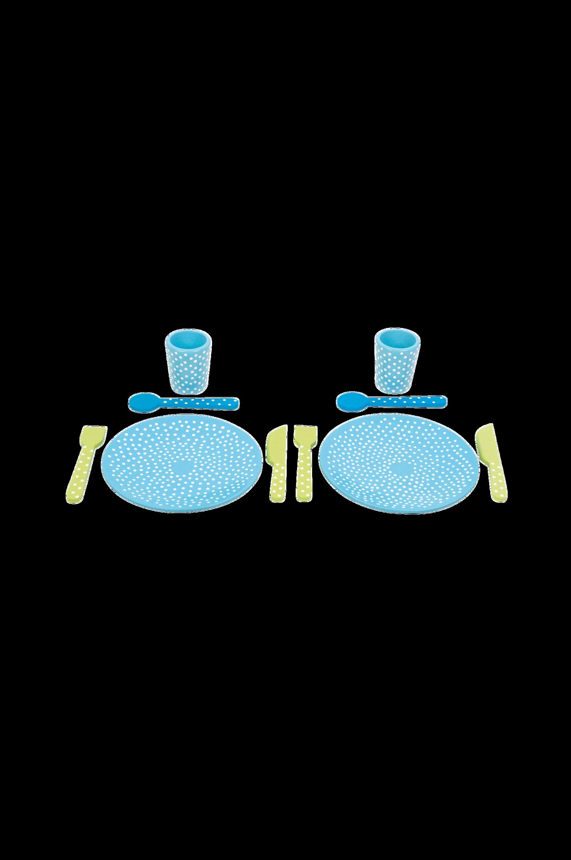 Astiasto, sininen