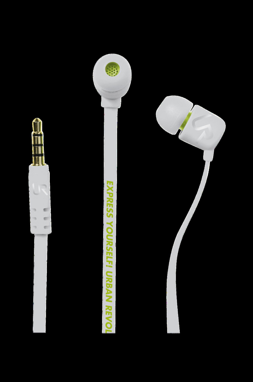Headset DUGA In-Ear Hvid Urban Revolt Hovedtelefoner & headset til Boligen i