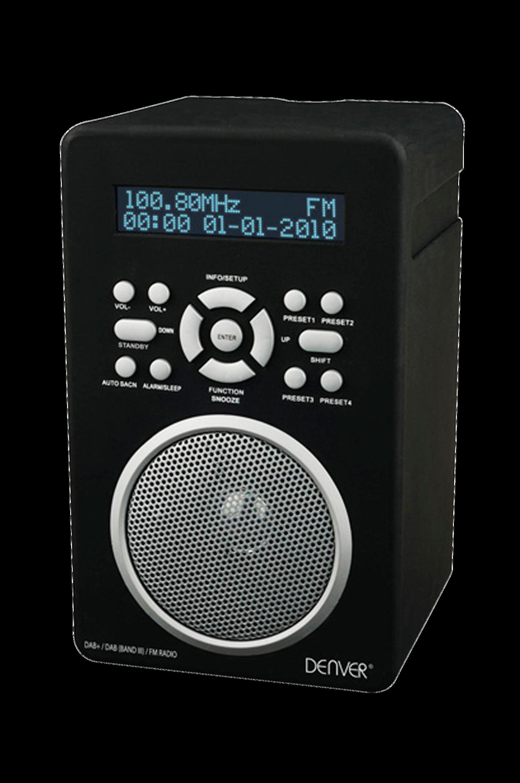 DAB-43PLUS DAB/FM-radio, musta