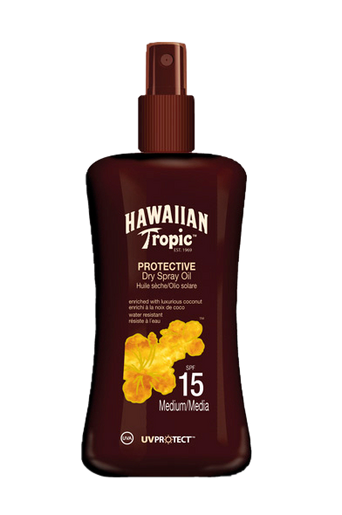 Protect. Dry Spray Oil Spf 15