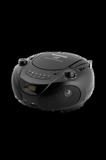 CD-soitin/radio/MP3/USB, musta ABB200B