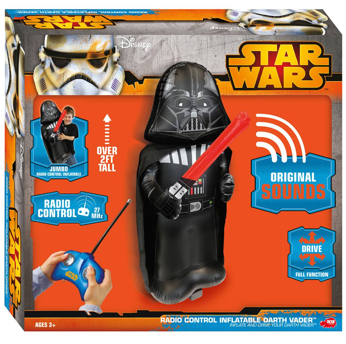 Darth Vader RC Inflatable, 81 cm