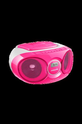 CD Soundmachine -soitin AZ215, roosa