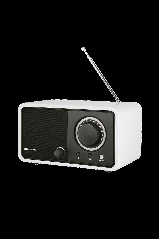 TR1200-FM-radio, valkoinen (GRR2720)