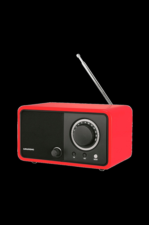 TR1200-FM-radio, punainen (GRR2730)