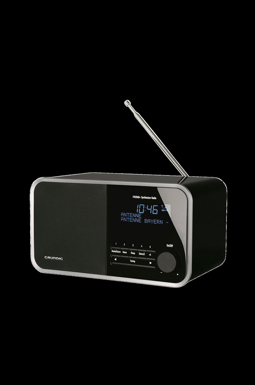 TR2200 FM-/DAB+-radio, musta