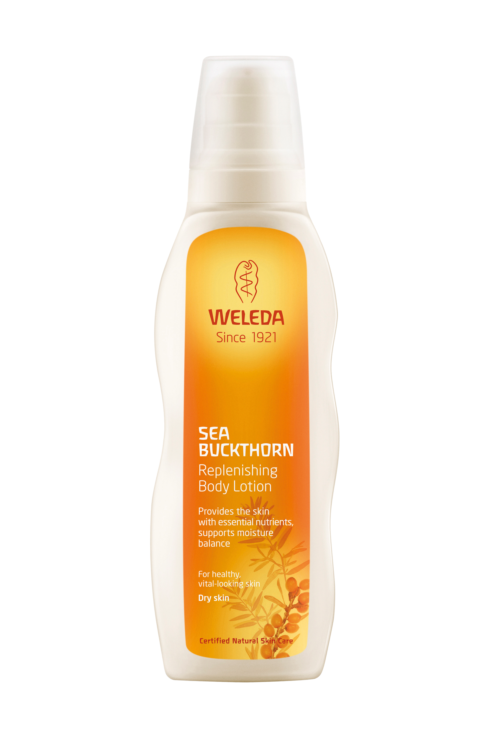 Sea Buckthorn Replenishing Body Lotion 200ml Weleda Bodylotion til Kvinder i 200 ml