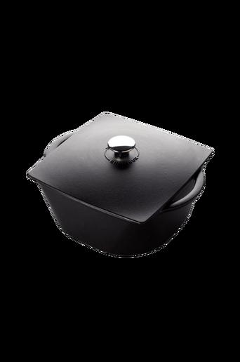Carronde-pata 3,0 l, 20 cm, musta (CH-322001)