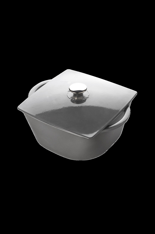 Carronde-pata 3,0 l, 20 cm, harmaa (CH-322015)