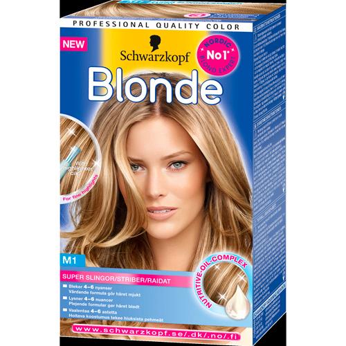 Blonde M1 Super raidat