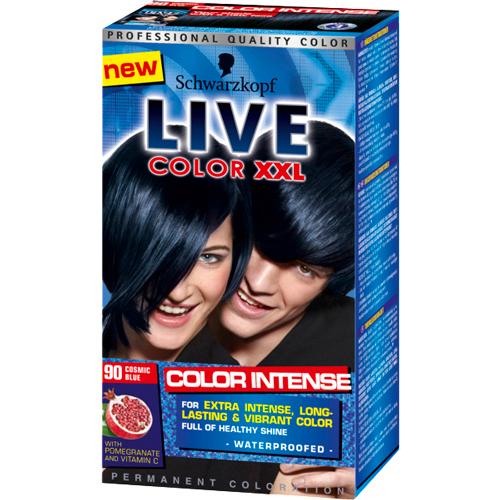 Schwarzkopf Live 90 Cosmic Blue - Hårfarve - Ellos.dk