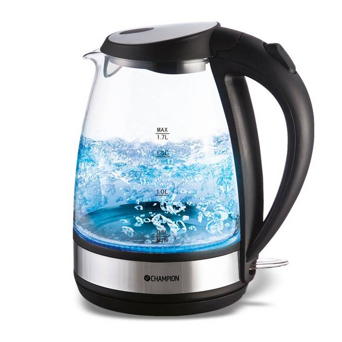 Vattenkokare Glas 1,7 l CHVK210