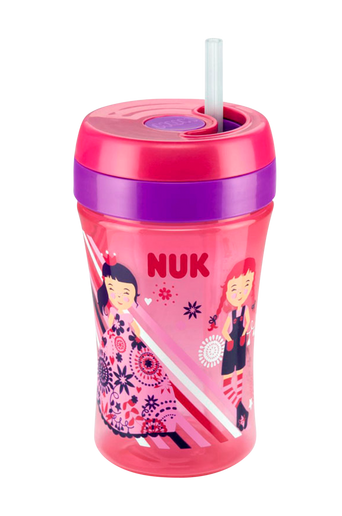 Easy Learning Cup Fun 300 ml, roosa