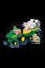 John Deere -traktori ja perävaunu