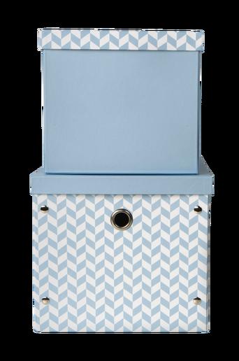 Säilytyslaatikot, 2/pakk. sininen