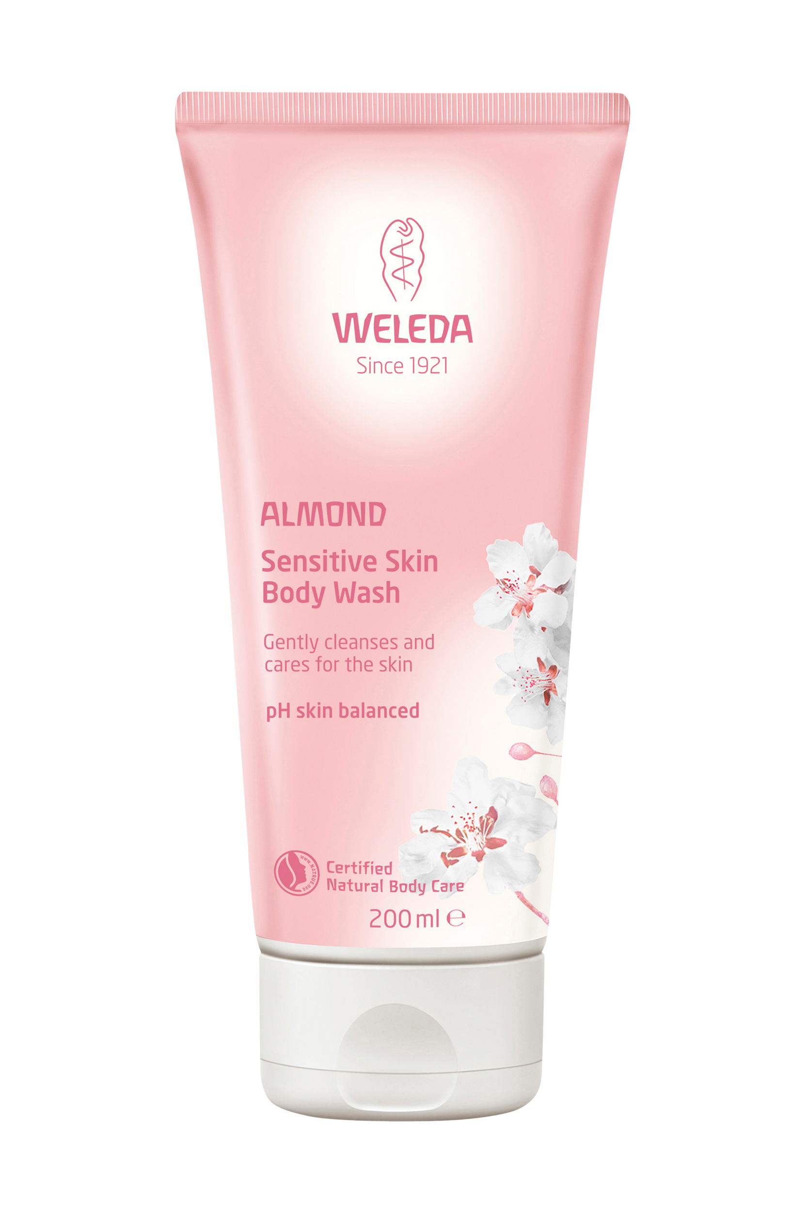 Almond Sensitive Body Wash 200 ml