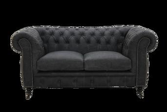 Sohva Cambridge vintagenahkaa, 2:n istuttava