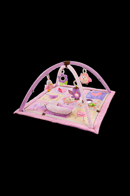 Owl Patch -leikkimatto, roosa/liila