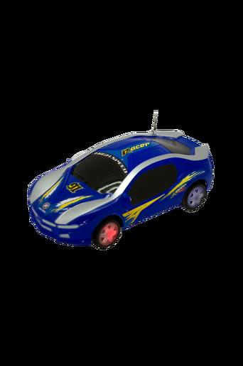Radio-ohjattava kilpa-auto, sininen, 17 cm