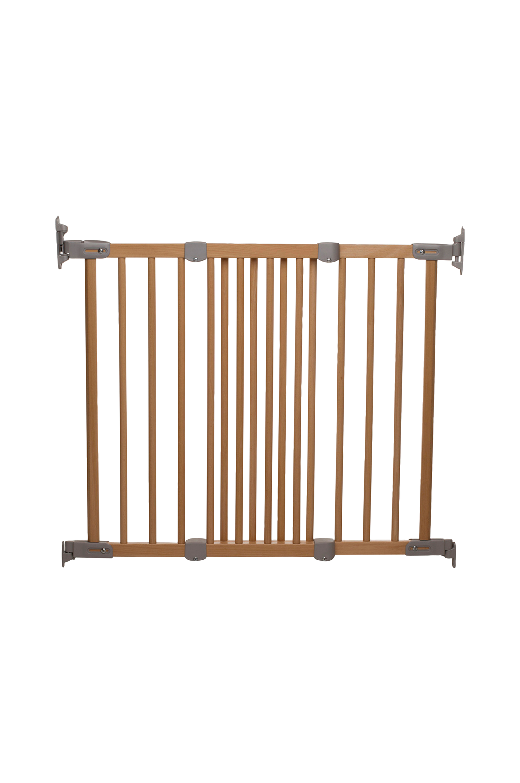 Flexi Fit -portti, puunvärinen/hopeanvärinen
