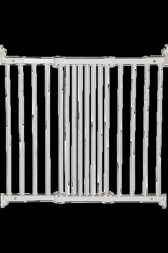 Flexi Fit -portti metallia, valkoinen