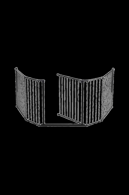 Flex-aita/portti XL 90–278 cm, musta