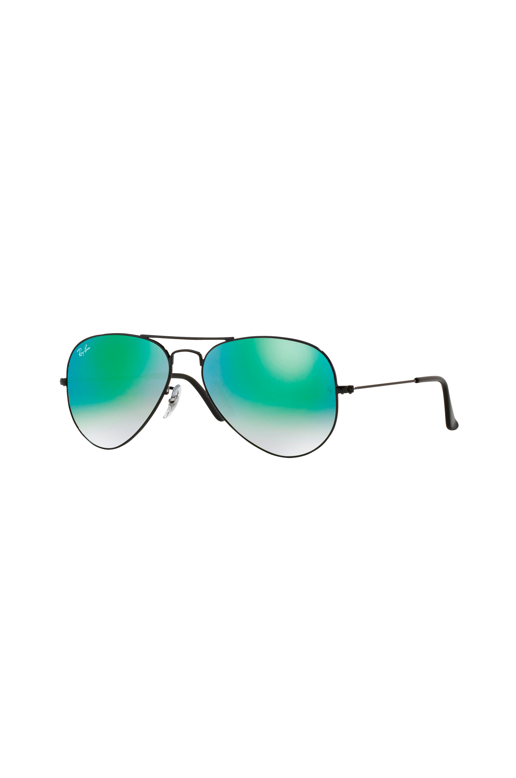 Aviator-aurinkolasit RB3025 58 Gradient Green