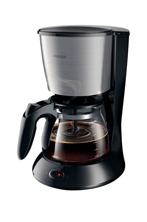 Kaffebryggare Svart/metall HD7462/21