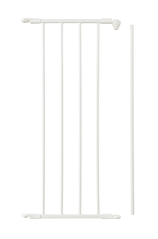 Jatkokappale Flex M -aitaan/-porttiin, valkoinen